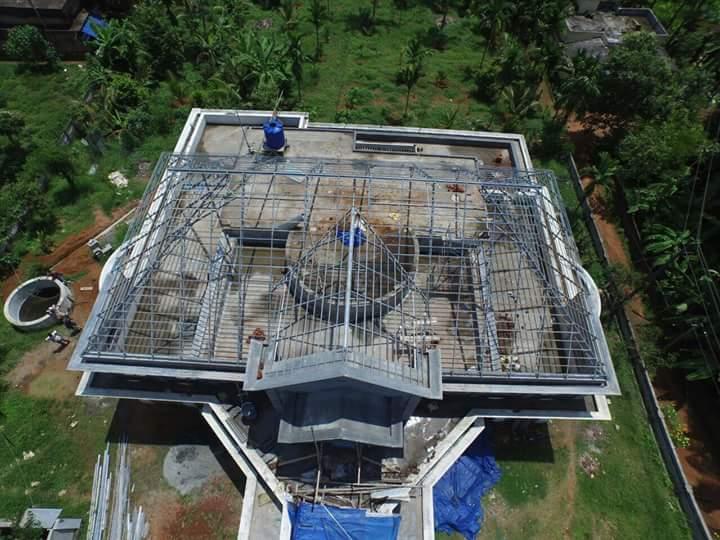 Yesyesroofs Truss Work In Kerala Roofing